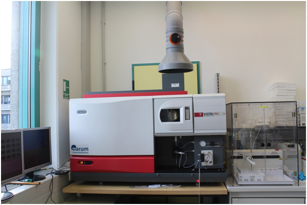Figure 2: Some of the geochemical analytical instruments.