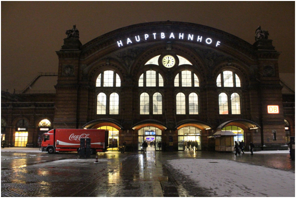 Figure 3: The main railway station (Hauptbahnhof).