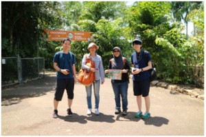 Figure1. The last free day before vessel departure-Japan team at Crocodylus Park and Zoo (photo credit by Santi)