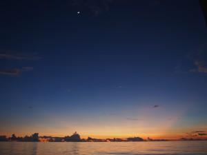画像1 360度見渡す限りの海。